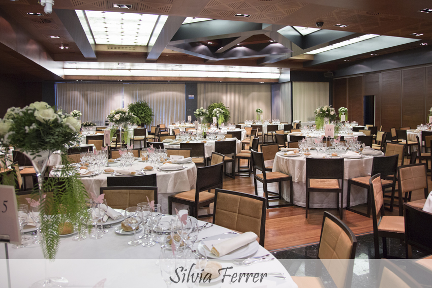 Salón para bodas en hotel Nelva de Murcia