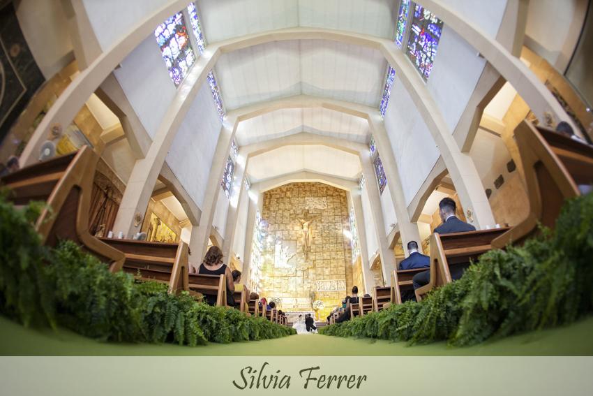 Arreglo floral iglesia de Fernando Hijo