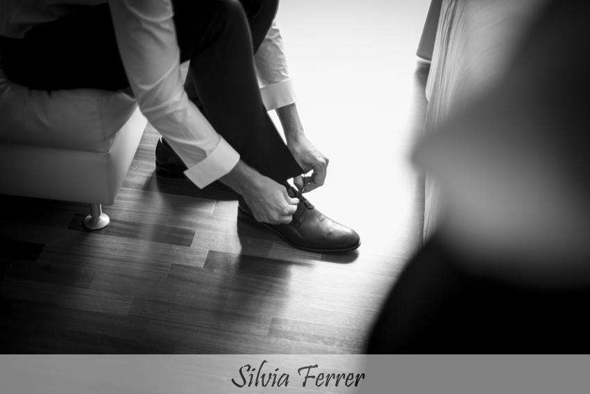 zapatos clásicos para novio