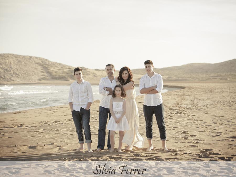 Fotos de comunión en el campo de Murcia