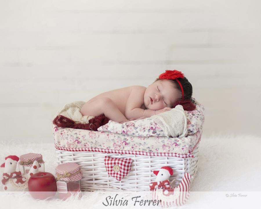 Fotos de recién nacido en Murcia