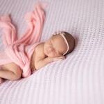 Fotografías de recién nacido en Murcia para niñas