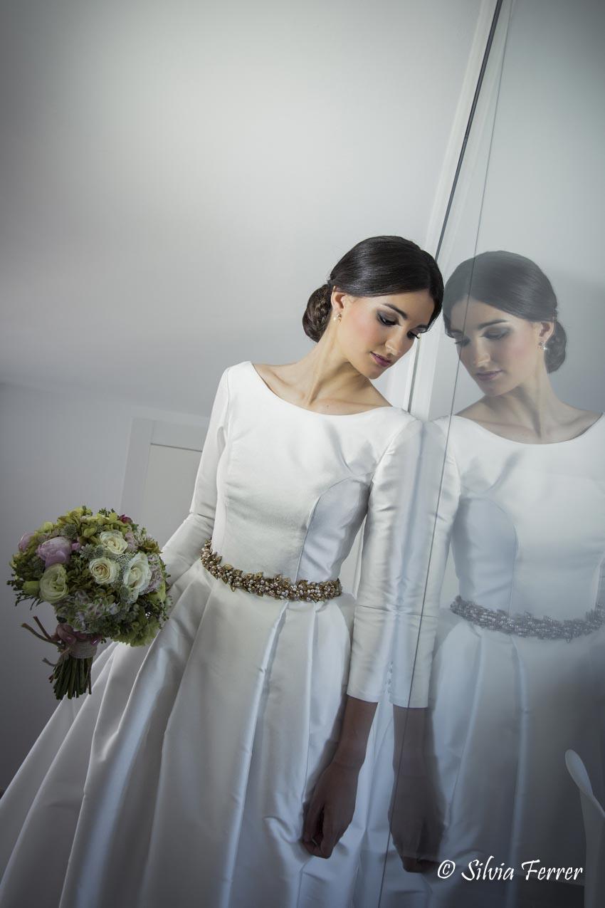 Vestido de novia de Rubén Hernández Murcia