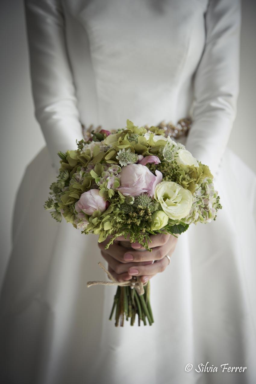 Ramo de novia primaveral Murcia