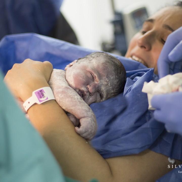 Nacimiento de Noa + Parto natural en Hospital Quirón de Murcia + Recién nacido.