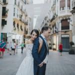 Fotos de boda urbanas en Murcia