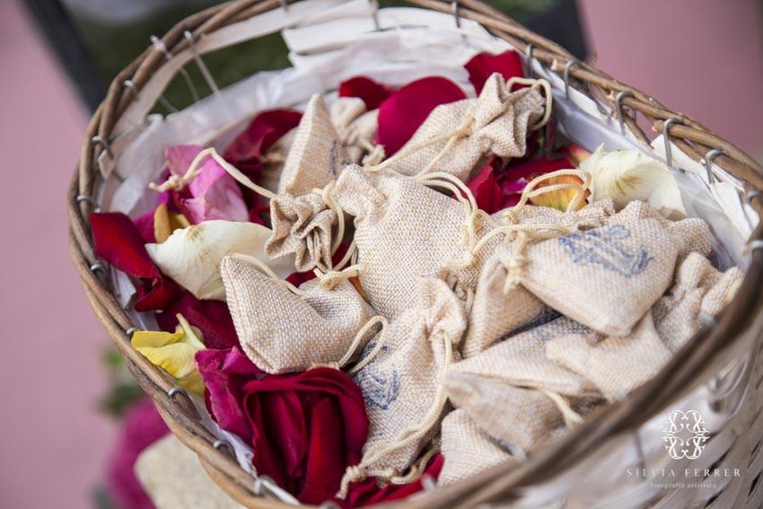 bolsitas de saco para arroz