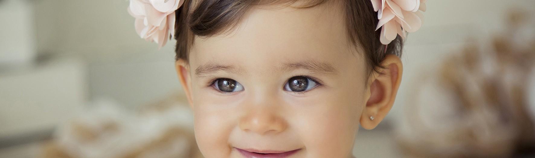 Fotos de seguimiento del primer añito + Fotógrafía infantil en Murcia + Mia.