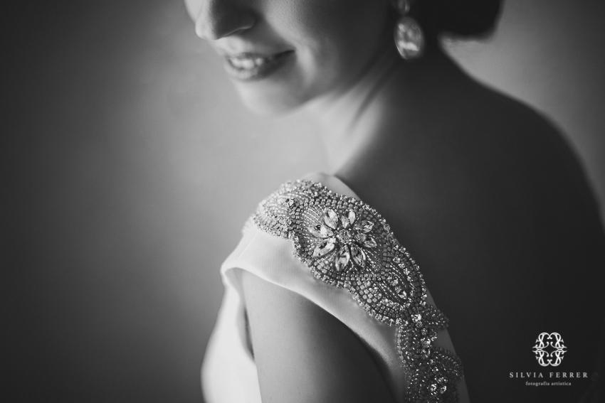 Vestido de novia joya