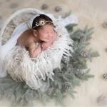 fotos de recien nacidos navideñas