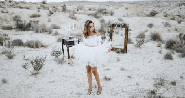 Sesión de inspiración + Fotos en el desierto + Fotógrafos de boda en Murcia + Ana.