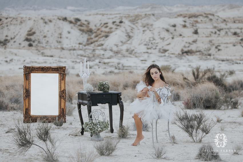 sesion de fotos de inspiracion en el desierto