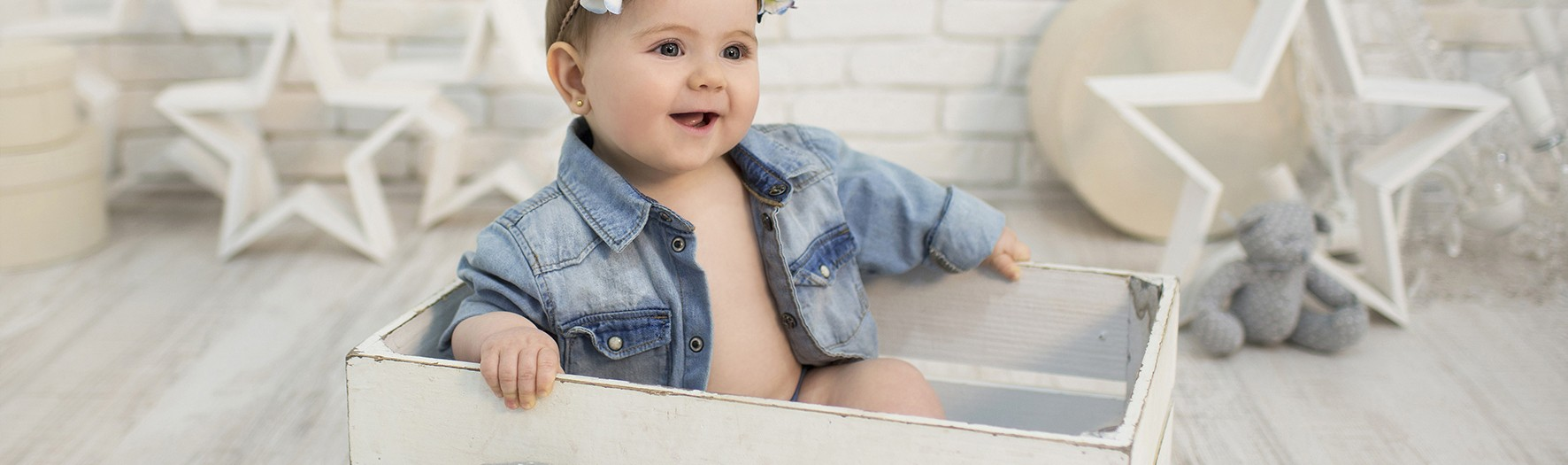 Fotógrafos de niños en Murcia + Fotos de bebés + Andrea + Silvia Ferrer.