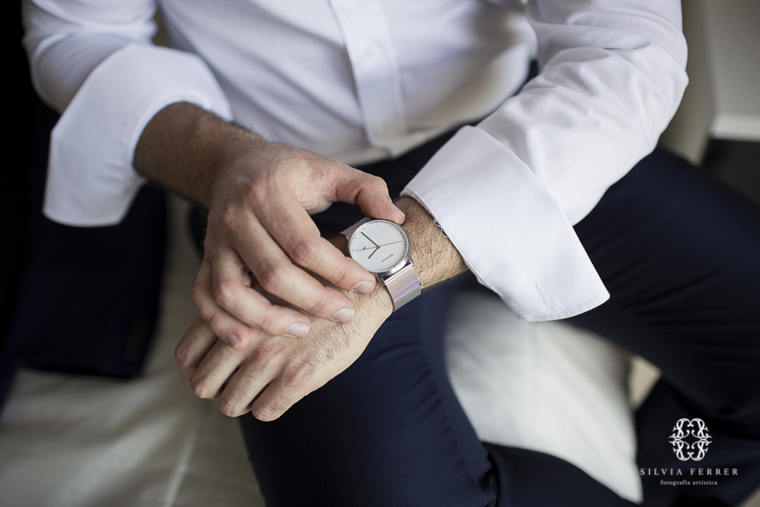 reloj de novio