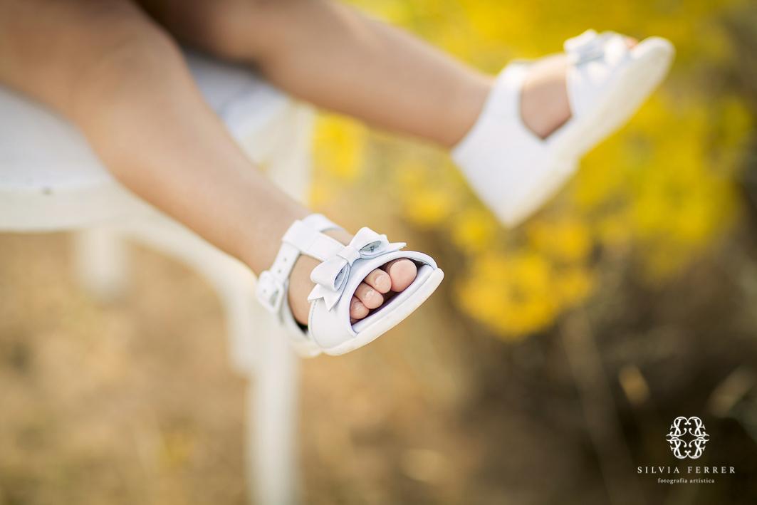 sandalias de bebe niña