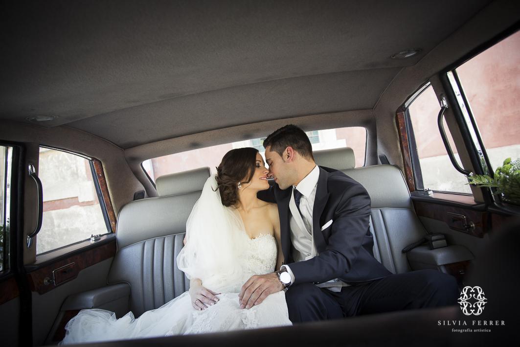 coches clasicos de boda en Murcia