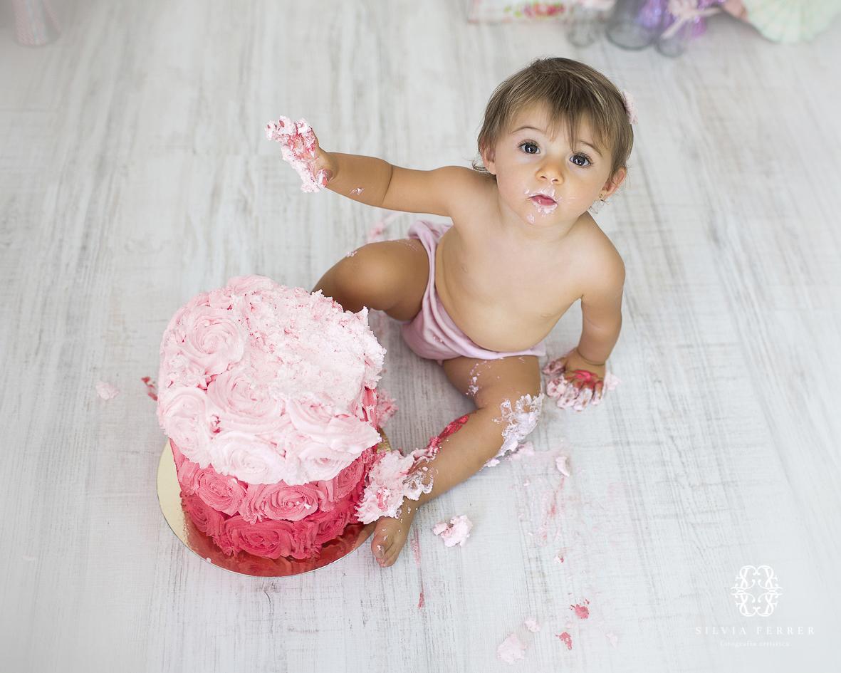 tarta de cumpleaños smash cake