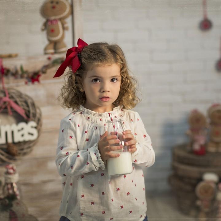 Fotos de Navidad + Christmas session + Fotografía infantil + Silvia Ferrer.