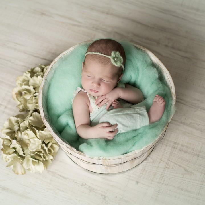 Fotos newborn + sesión de recién nacido + Chloe.