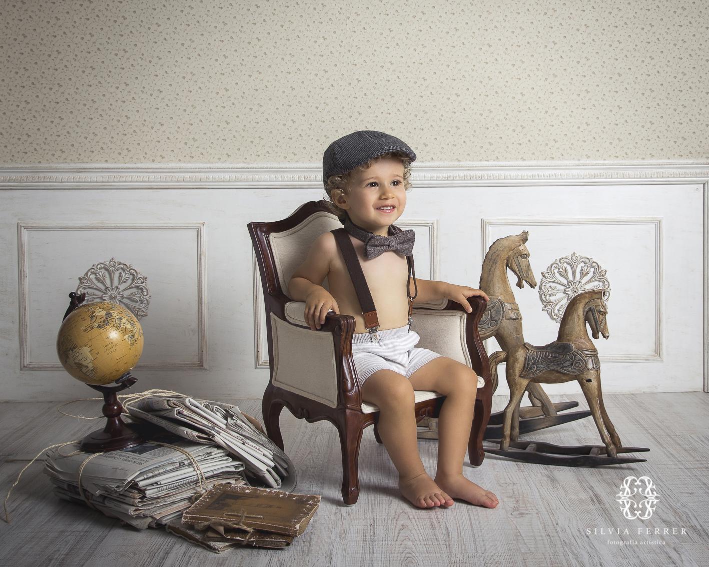 estudio de fotografía infantil