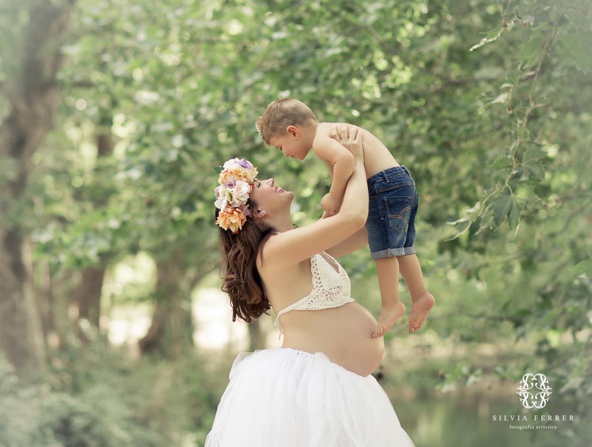 fotos de embarazada en exteriores