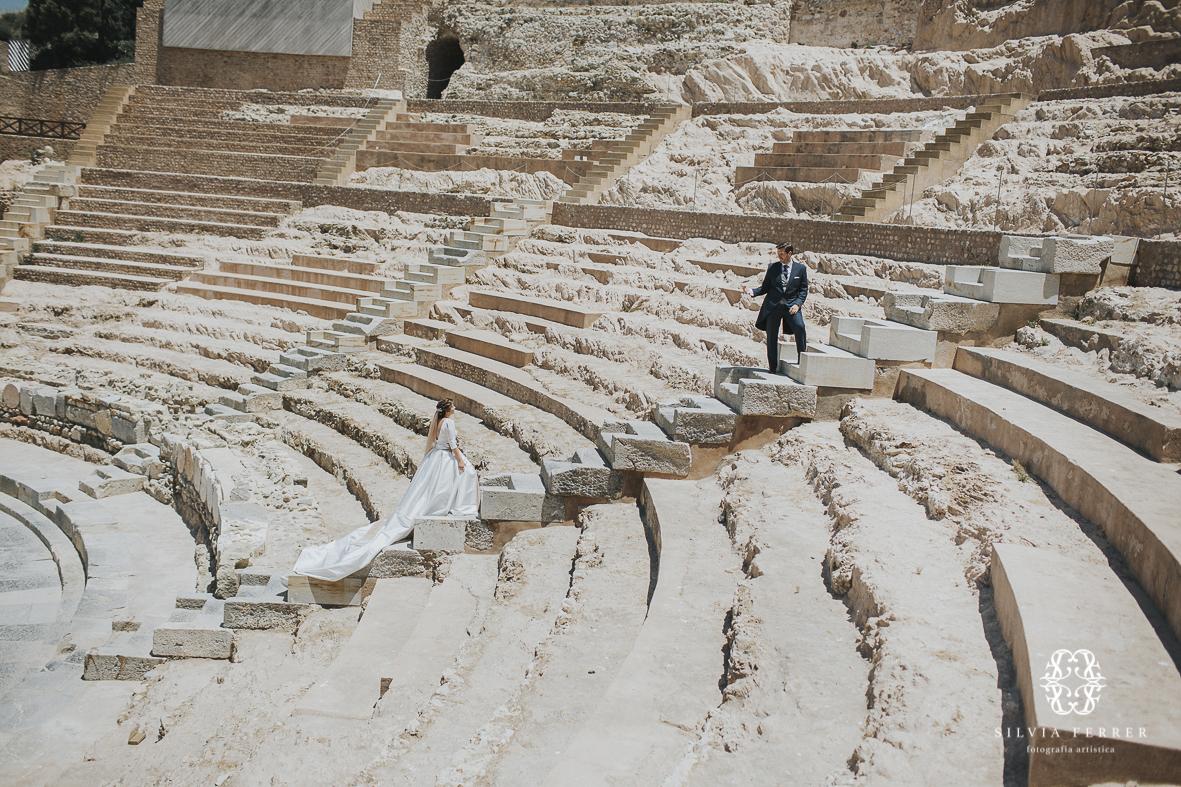teatro romano de cartagena gradas