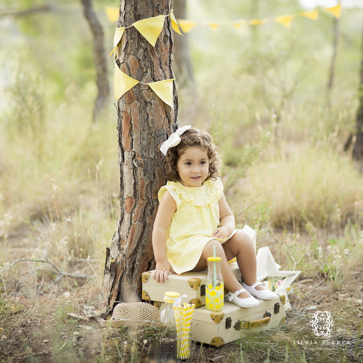 fotos de niños en exteriores