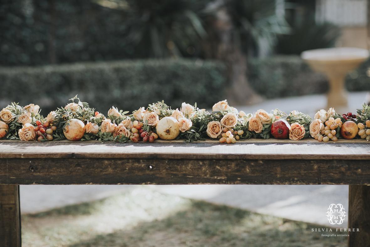 Deco floral de invierno