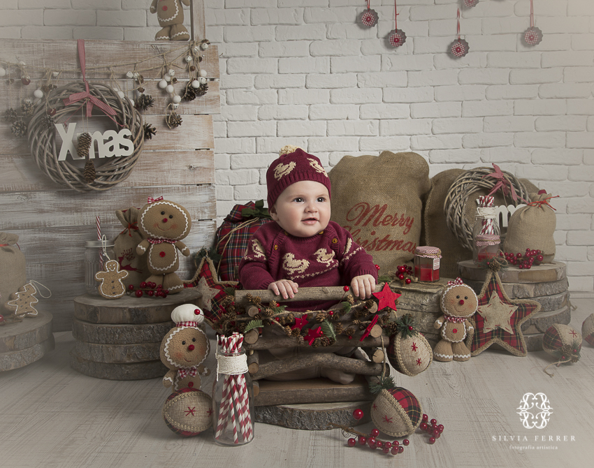 fotos de navidad para bebes