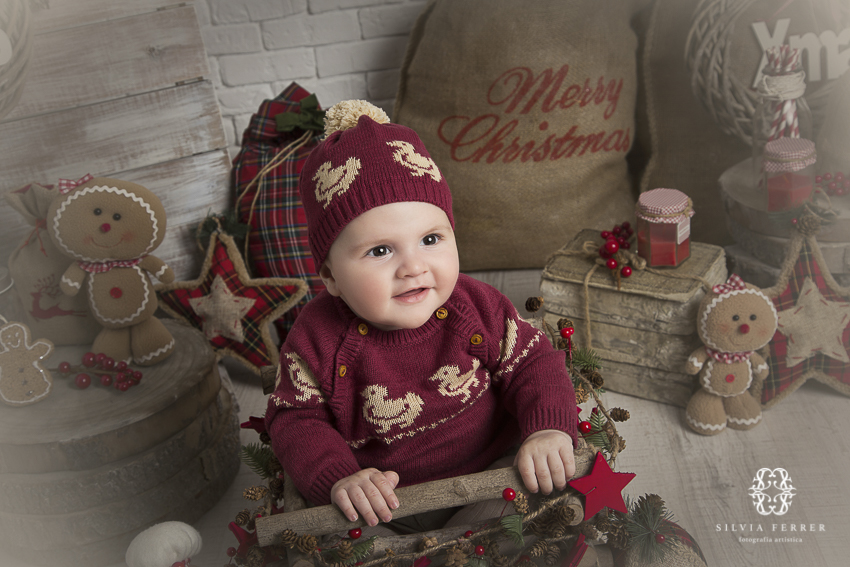 fotos de navidad para bebes de 5 meses