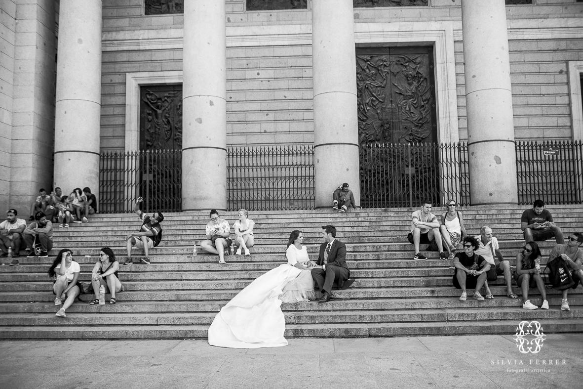 Fotos de boda en el palacio real