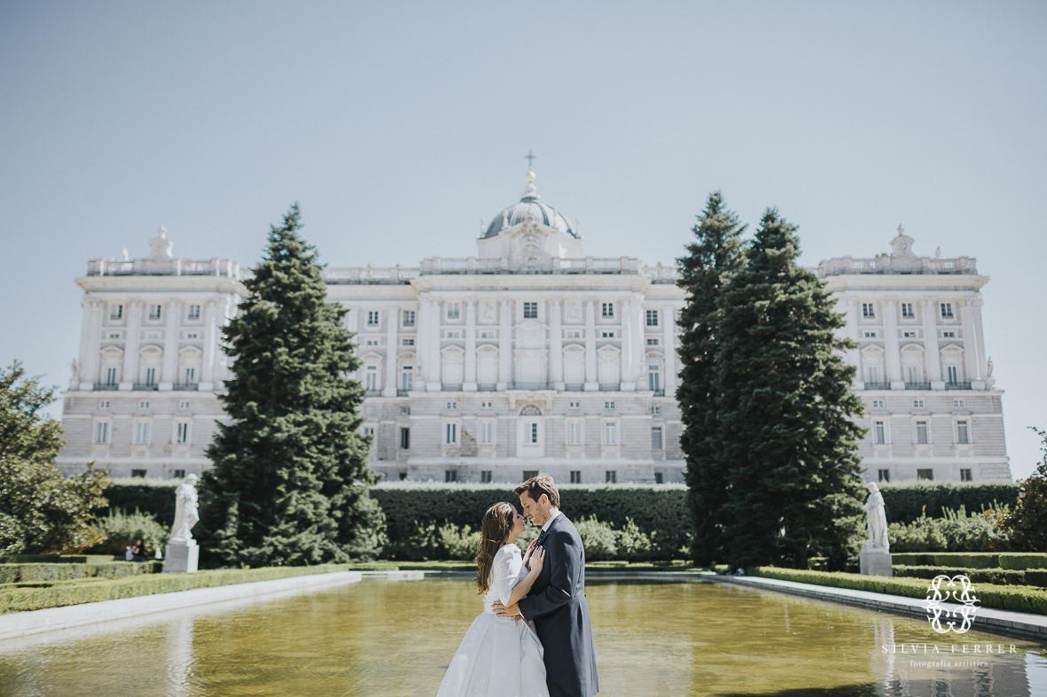 boda en el palacio real