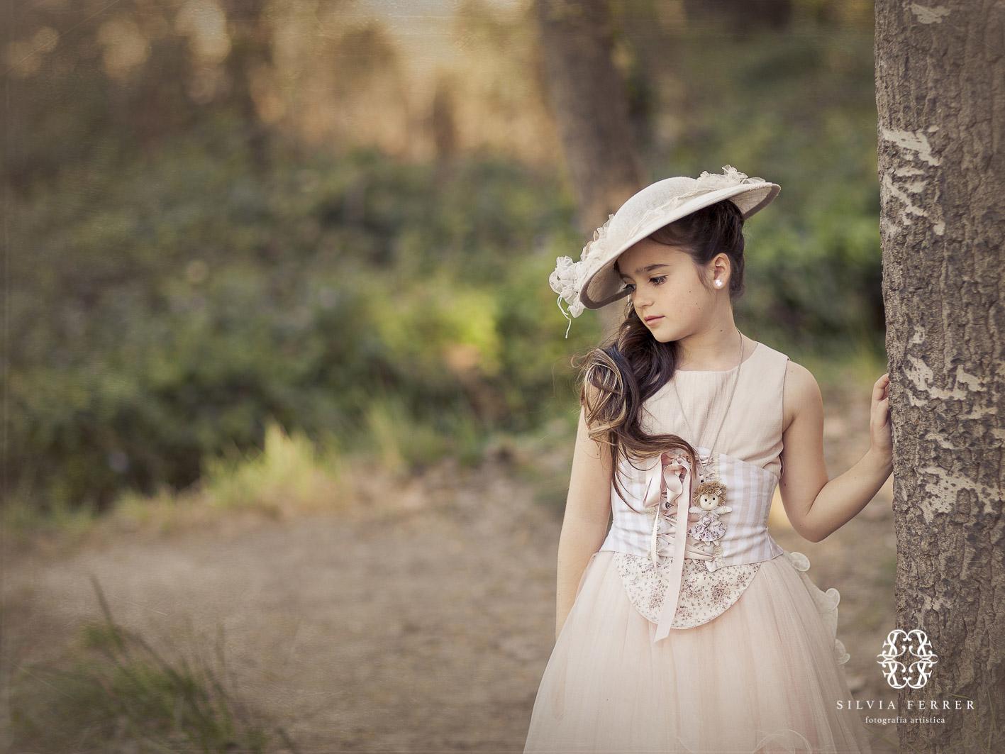 niña de comunion con pamela