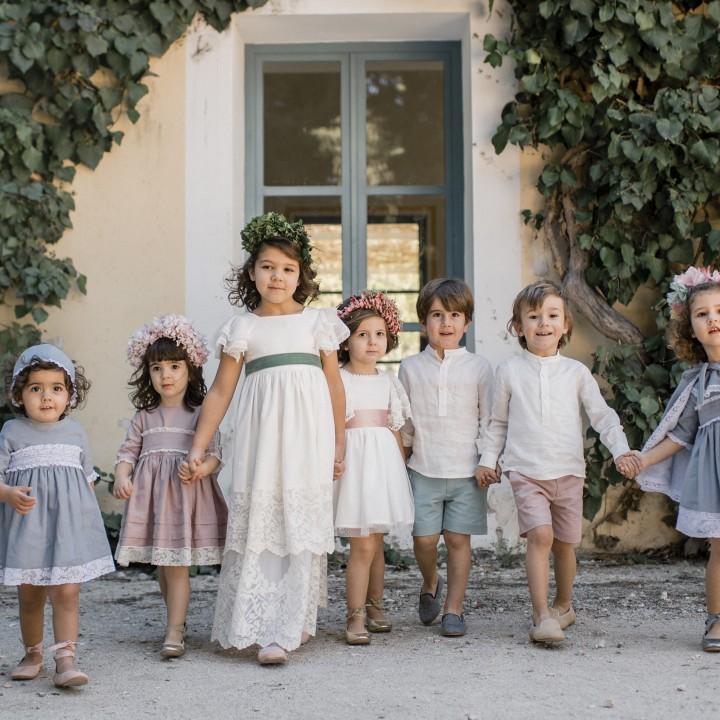 Sesión infantil con niños en exteriores + MiniPlumetis + BeMini + Silvia Ferrer + El Parque de la Marquesa.