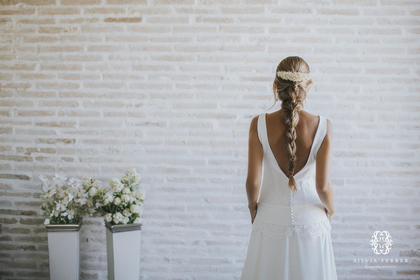 trenza para novia