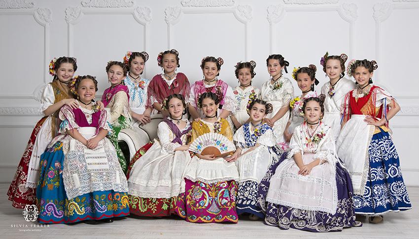 Reina y damas de la Huerta