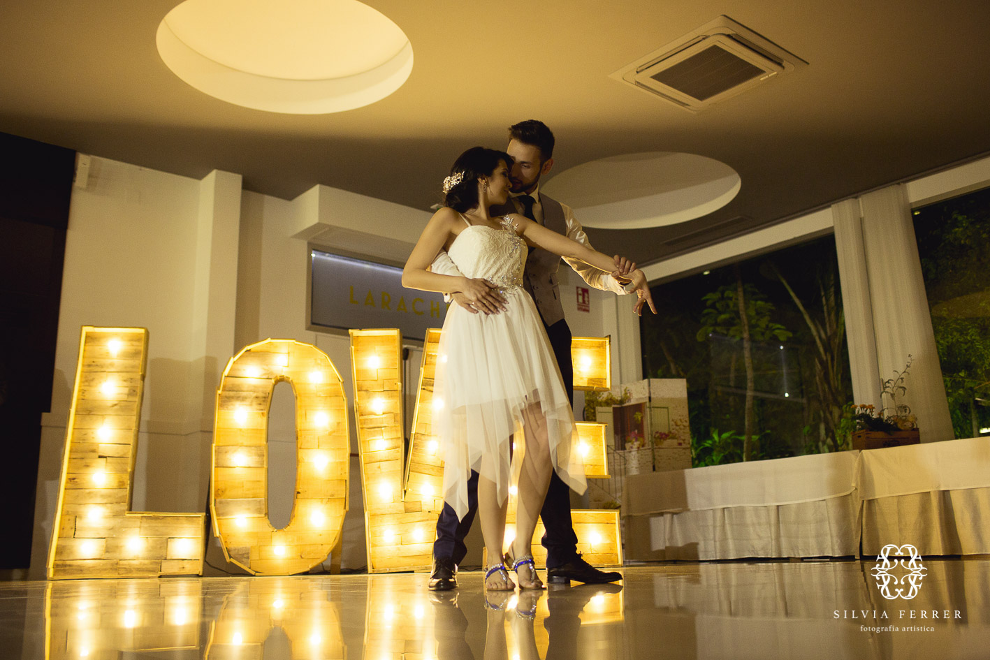letras de luces love
