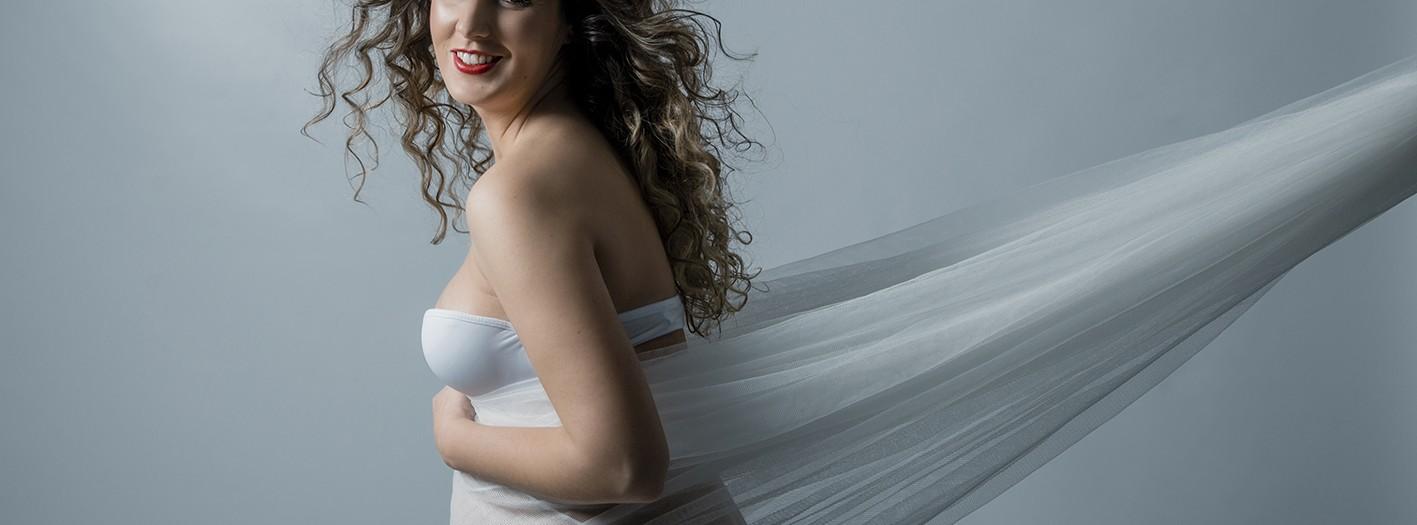 Fotos de embarazada + Sesión premamá + Sandra + Fotógrafos Murcia + Silvia Ferrer.