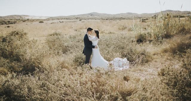 Postboda en Calblanque + Fotógrafos de bodas en Murcia + José Manuel y Julia + Silvia Ferrer.