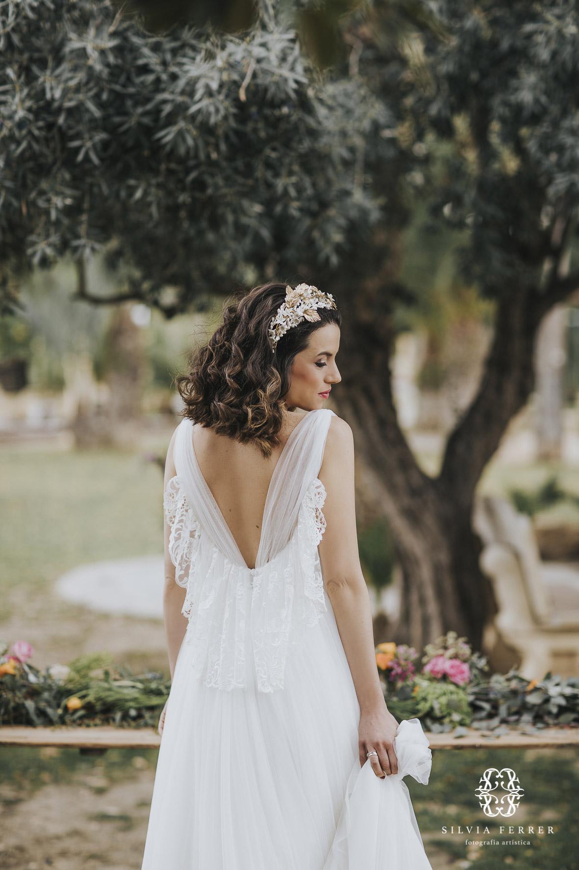 vestido de novia invierno boda bouret portocale murcia