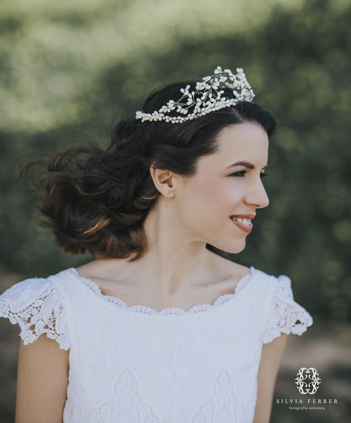 vestido de novia con capa invierno boda bouret portocale murcia corona fanfan et poupi