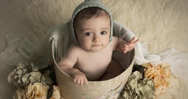 Fotos de bebés en Murcia + Fotografía infantil + Leo + Silvia Ferrer.