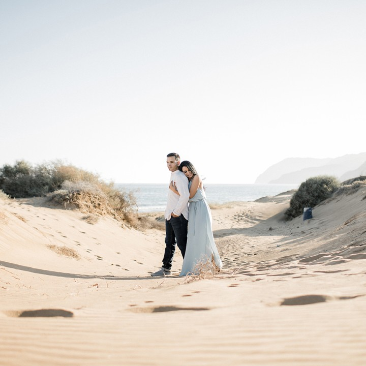 Preboda en Portmán y Calblanque + Sesión de fotos de pareja + José María y Yolanda.