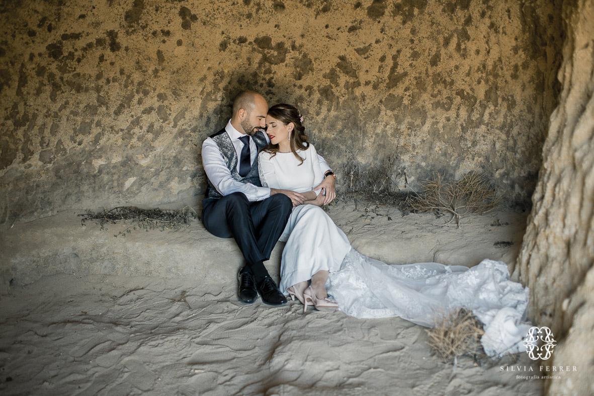 fotografos de boda murcia alicante almeria postboa playa silvia ferrer