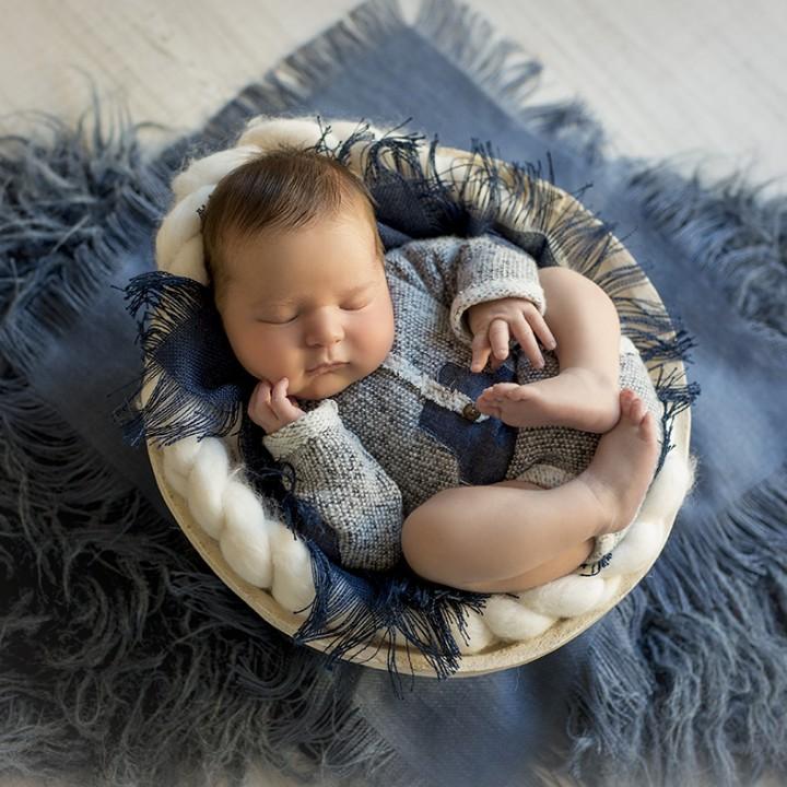 Fotos de bebé recién nacido + Newborn session + Álvaro + Silvia Ferrer.