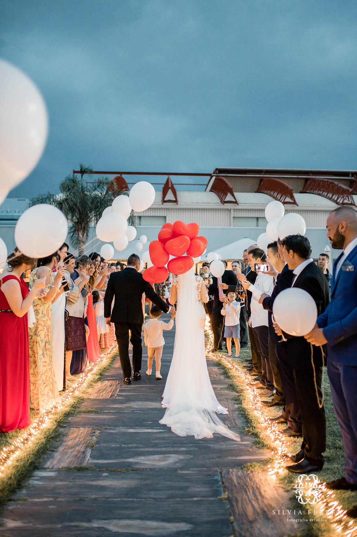 cason de la vega valisse boda globos