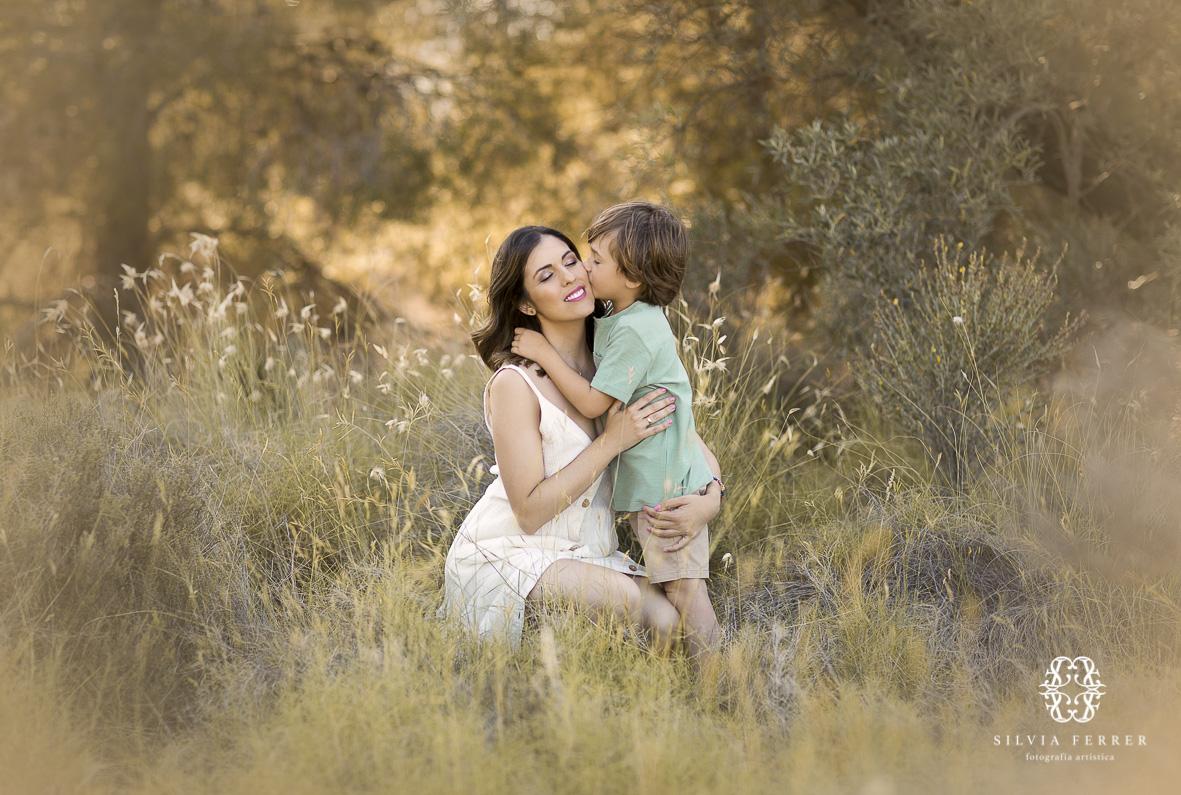fotos familiares exteriores campo murcia silvia ferrer familia ideal 2 hijos