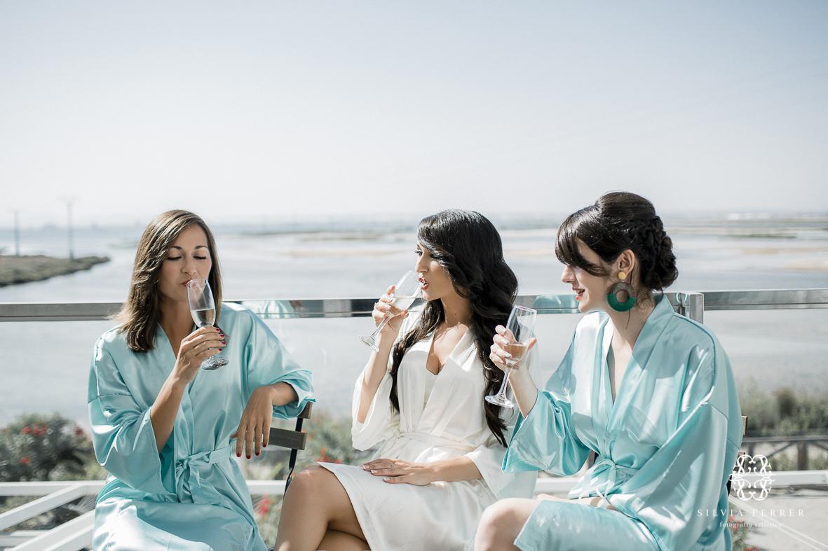 damas batas novia boda