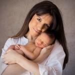 madre e hijo newborn