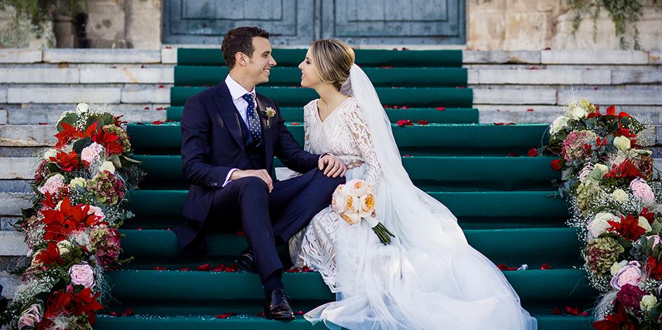 Boda de invierno+ Navidad + Promenade + Fotógrafos de boda en Murcia + Carmen y Neftalí.